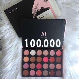 Morphe eyeshadow pallete