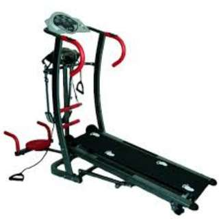 Treadmill Manual TL 006 Anti Gores 6 Fungs Murah Spt Kettler