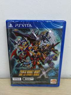 (Brand New) PS Vita Super Robot Wars X / R3 (English)