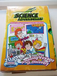 Science Adventures: Special Export Edition - Amazing Voyage of Discovery (2012 Level 2: 10 + 1 issues in box holder)