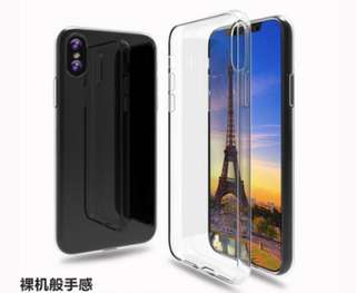 Iphone X TPU transparent Case