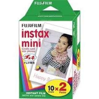 Fuji Mini Instax Plain Polaroid Films