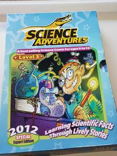 Science Adventures: Learning Scientific Facts Through Lively Stories - Special Export Edition (2012 Level 3: 9 + 1 issues in box holder)