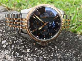 oris moonphase rose gold