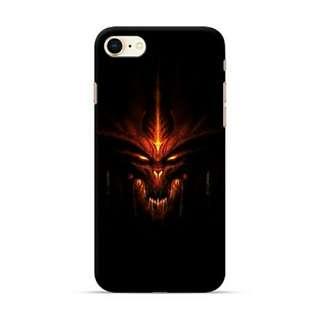 Diablo Dead iPhone 8 Custom Hard Case