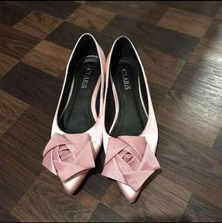 #CarousellCintaBumi Pink Rose Flats