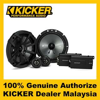"KICKER CS 6.75"" 2-Way Component Speaker - CSS674"