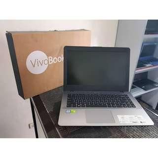 BRAND NEW Asus Vivobook X442u 14inch FULL HD i5 8th Gen 1tb 4gbDDR4 2gb DDR5 Nvidia 940mx