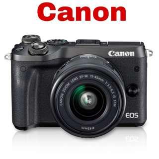 Canon EOS M6 Black (EF-M15-45 IS STM)
