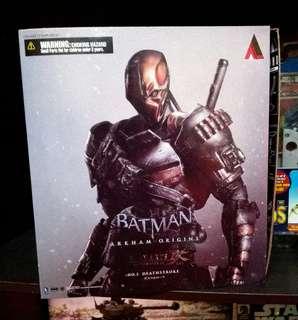 Playarts batman arkham ko deathstroke bib