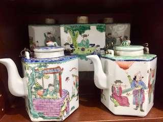 Antique Chinese Tea Pots