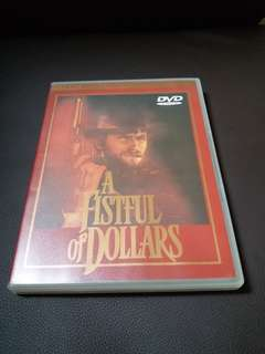 DVD 獨行俠連環奪命槍(A Fistful of Dollars,1964)