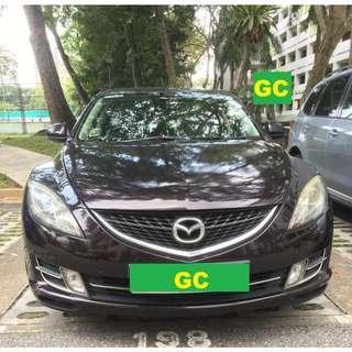 Mazda 6 CHEAPEST RENTAL IN TOWN RENT VEHICLE FOR Grab/Personal USE