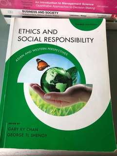 Ethics and Social Responsibility 7th Edition
