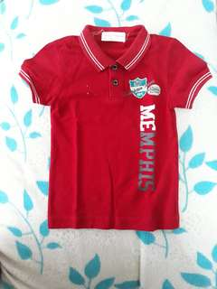 GRIZZLY Polo Shirt for 2-3yrs old