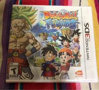 NEW* Dragon Ball Fusions 3DS Nintendo  RPG Game