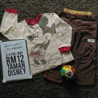 Boy Disney Set