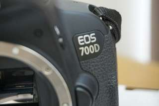 Canon EOS 700d BODY ONLY like new