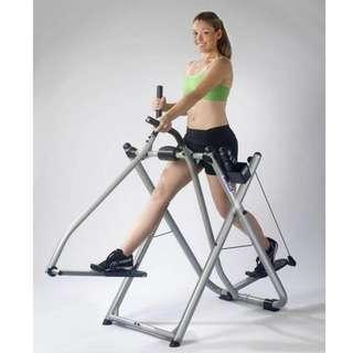 Air Walker Big Cross Trainer Alat Olahraga Fitness Pembakar Kalori Tubuh