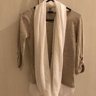 Mid Sleeves with FREE scarf