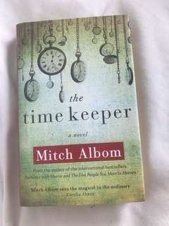 Hardcover Mitch Albom The Time Keeper