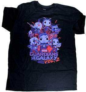 GOTG Vol. 2 Funko T-shirt (MCC Exclusive)