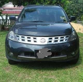 Nissan Murano Sunroof