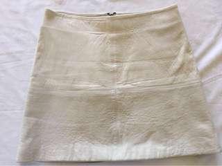 Kookai leather skirt size 38