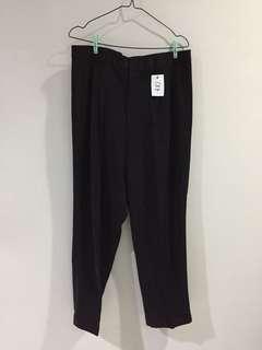 017 Celana Bahan Say Grace hitam