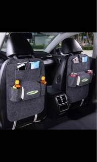 Car Back Seat Storage Bag Car Seat Cover Organizer Holder Bottle Box Magazine Cup Phone Bag Backseat Organizer