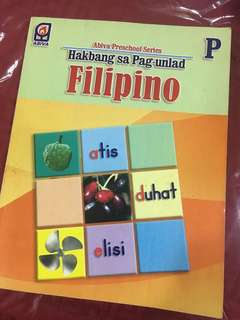 Workbook in Filipino