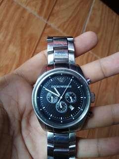 Jam tangan emporio armani chronograph