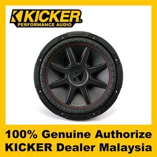 "KICKER CompVR 12"" Dual 4 ohm Subwoofer, 800W - CVR124"