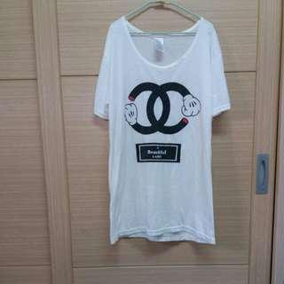 🚚 韓 米奇棉質短袖T