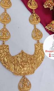 Labour Day Promotion 20% off Item: Authentic Lakshmi Haram Set Original Price: $85 Promotional Price: $68 Additional: $4.00 for registered post Delivery: 2-3 working days