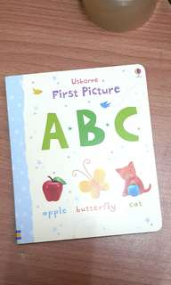 Baby book - first picture ABC