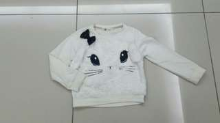 H&M Girls Sweater (3-4years)