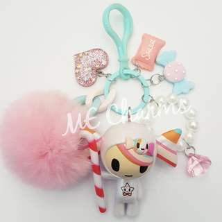 Tokidoki Donutella And Her Sweet Friends Series Caramella Bag Charms / Fobs