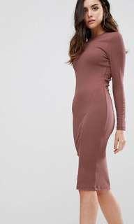 ASOS Midi bodycon dress