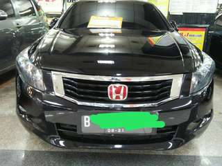 Honda Accord 2.4 VTIL 2008 Hitam Metalik AT tdp 25 Jutaaaaa
