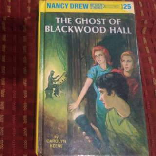 Nancy Drew Mystery Stories 25 The Ghost of Blackwood Hall by Carolyn Keene book