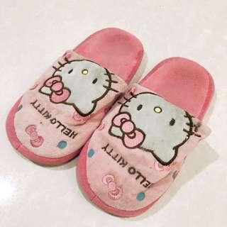 Hello Kitty Room Slippers