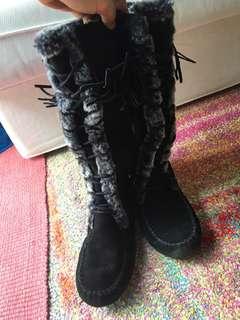 Minnetonka Hazel Knee high boots