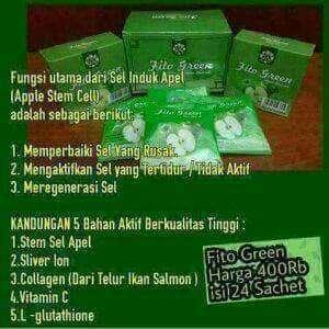 Fitoo green + sabun bambo MSI
