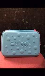 Smiggle Pencil Case Blue ( kotak pensil biru )