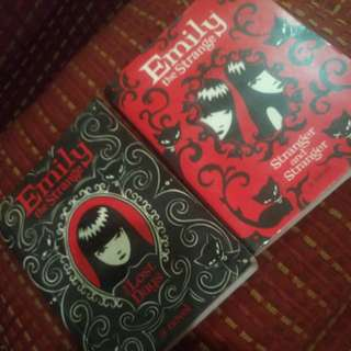 Emily the Strange Novel Book 1 & 2