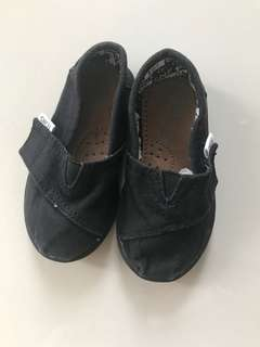Tom's baby shoes