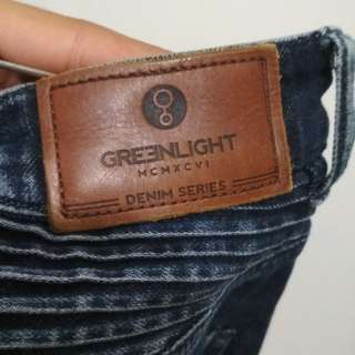 Biker denim Greenlight
