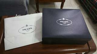 Prada Boxes only (Price Reduced)