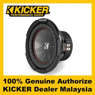 "KICKER CompR 8"" Dual 4 ohm Subwoofer, 600W - CWR84"